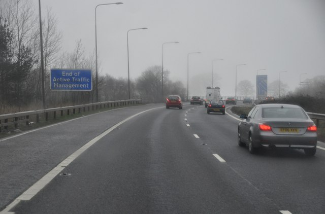 Stratford-on-Avon : The M42 Motorway