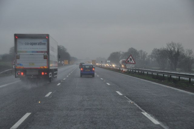 Stroud : The M5 Motorway Southbound