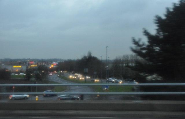 South Gloucestershire : M5 Motorway Junction 17