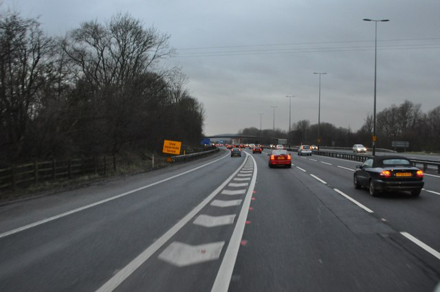North Somerset : M5 Motorway Southbound