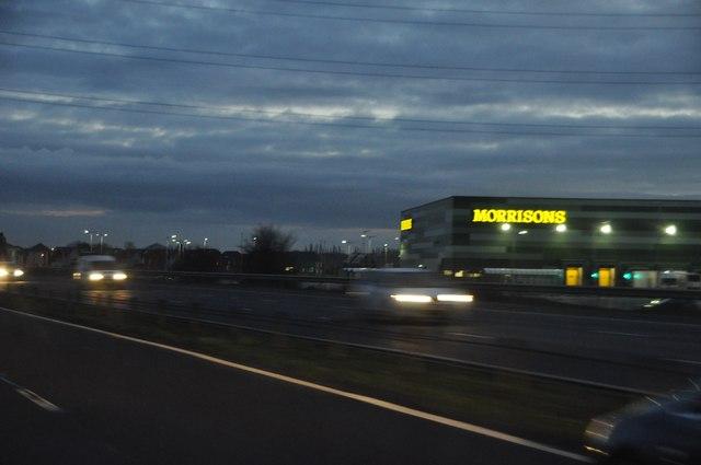 Sedgemoor : M5 Motorway & Morrisons Storage