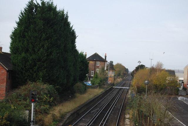 The Railway by the Railway Line