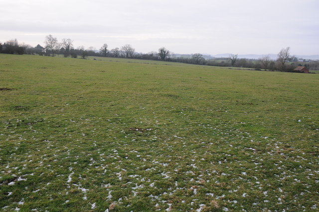 Farmland near the Mythe