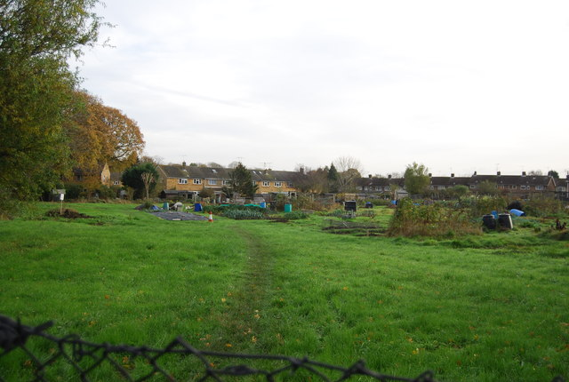 Allotments off Malthouse Rd