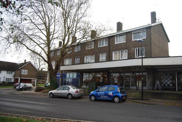 Shops, Southgate Drive