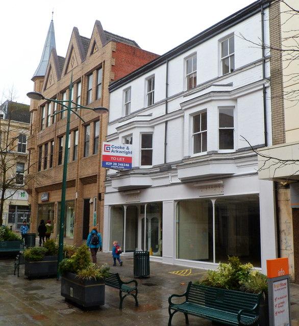 Vacant former Millets shop, Newport
