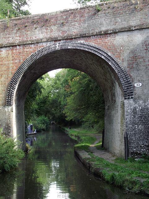 Ryehill Bridge north of Wheaton Aston, Staffordshire