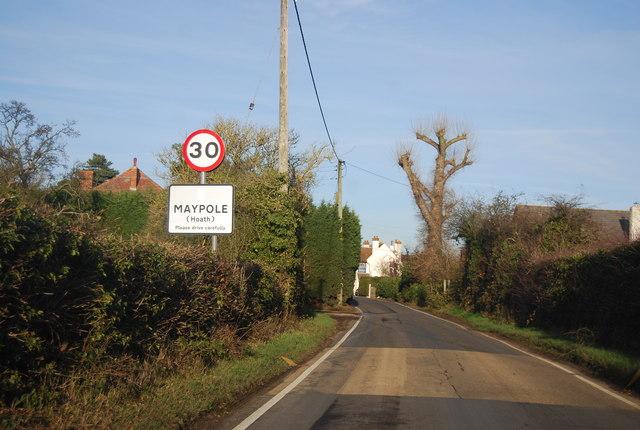 Entering Maypole
