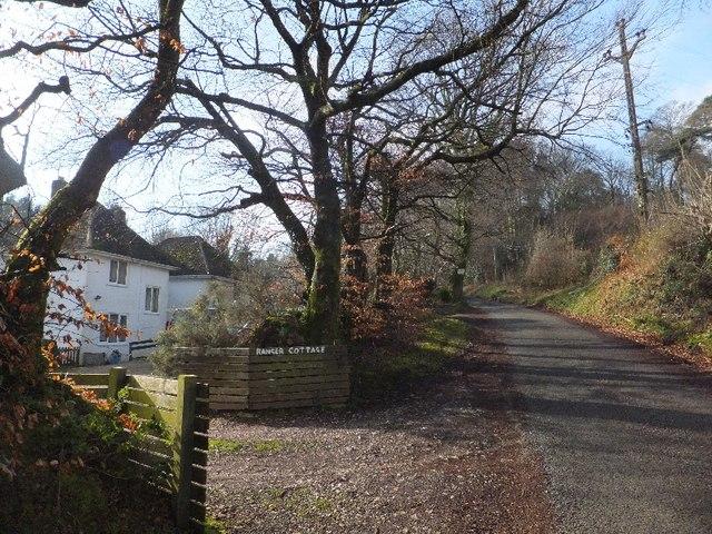Greenway Lane and Ranger Cottage