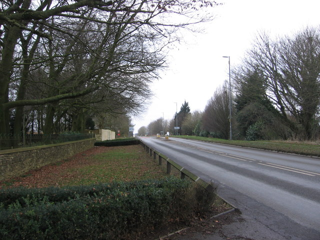 Lansdown Road, looking towards the Park and Ride