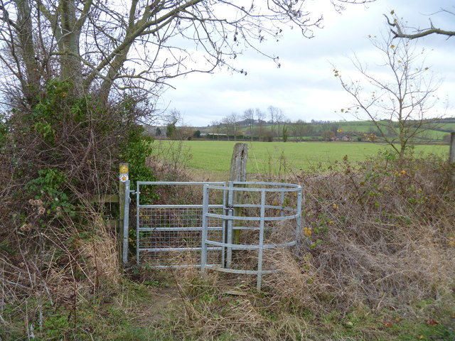 New kissing gate