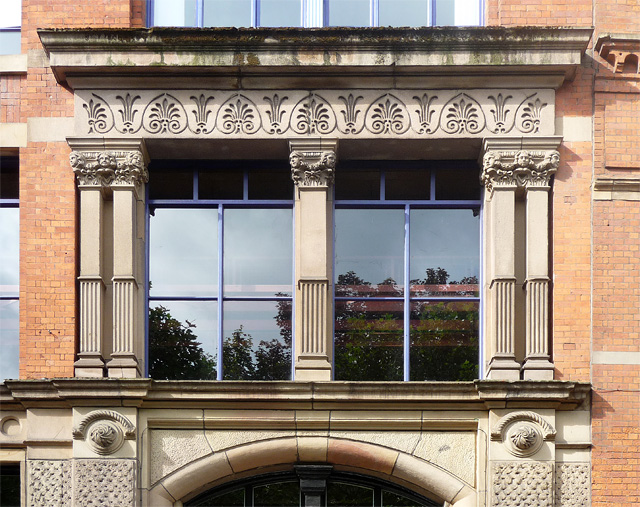 Detail of 36-38 Whitworth Street, Manchester