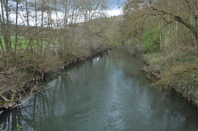 View of the River Lugg