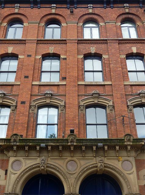 Detail of 42-44 Sackville Street, Manchester