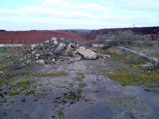 Industrial wasteland near Llanwern