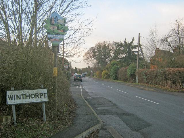 Approaching Winthorpe