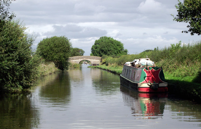 Shropshire Union Canal at Little Onn, Staffordshire