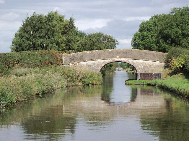 Little Onn Bridge near Church Eaton, Staffordshire