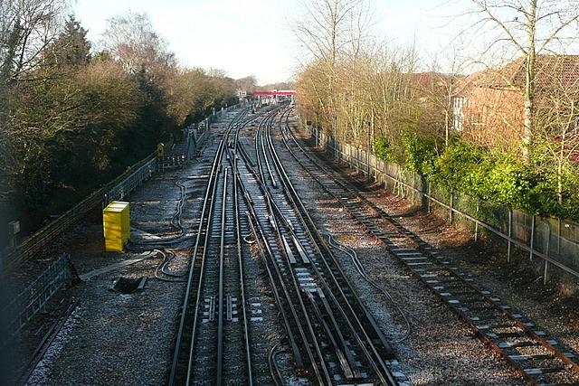 Towards Amersham station