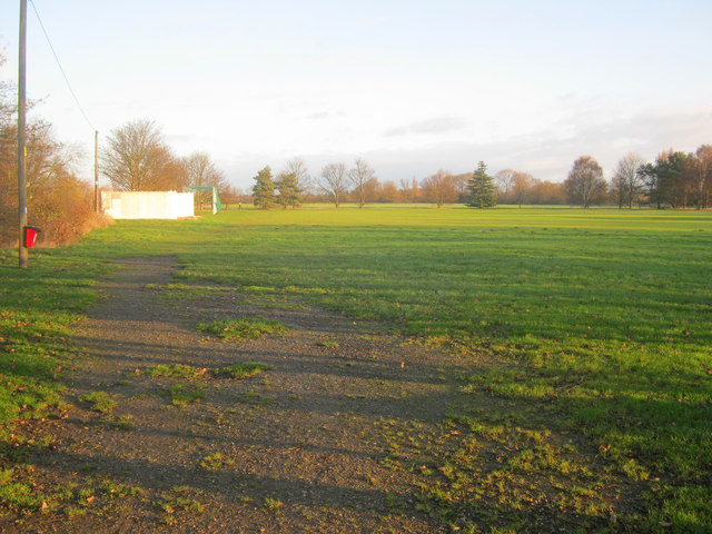 Winthorpe cricket field