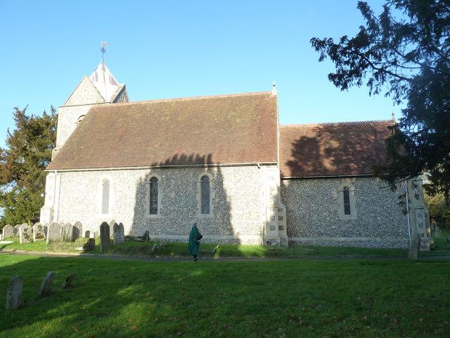 A late November visit to St Nicholas, Newnham (1)