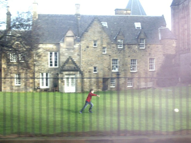 St Mary's Cathedral school grounds, Edinburgh
