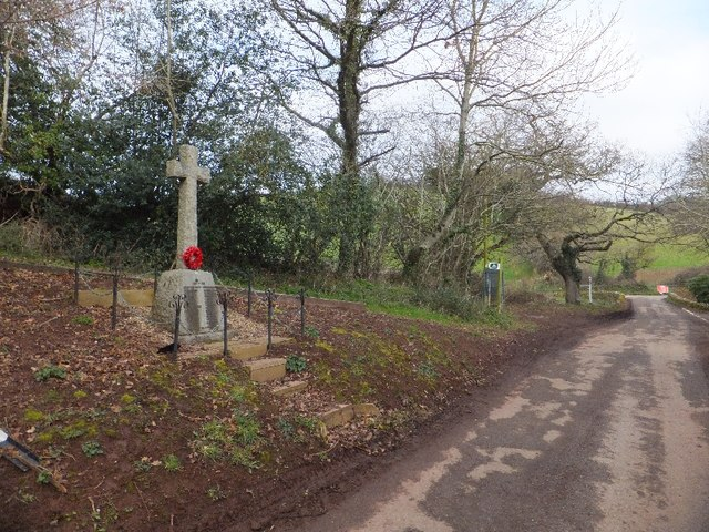 War memorial at Kennel Court in context