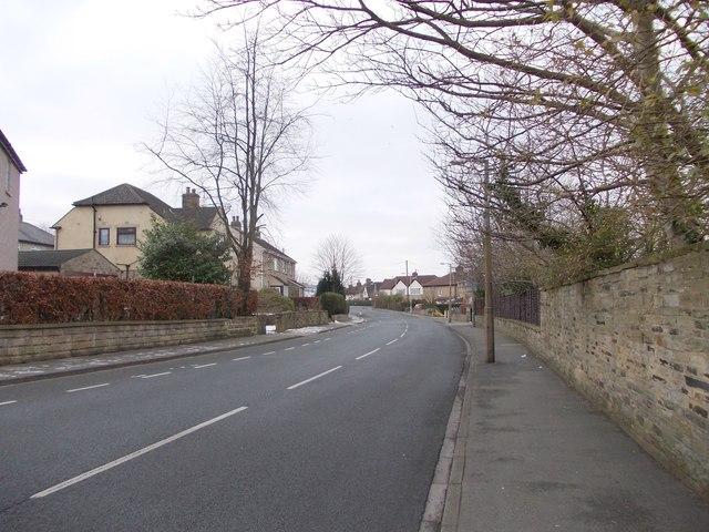 Ashfield Road - viewed from Moorhead Crescent
