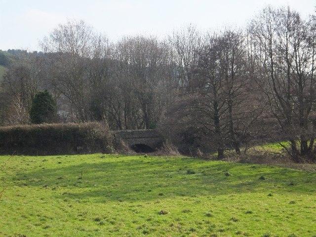 Bridge over Dawlish Water near Houndspool