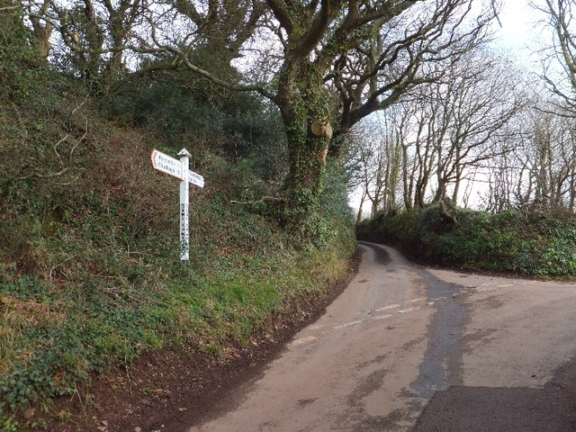 The signpost named after a stream
