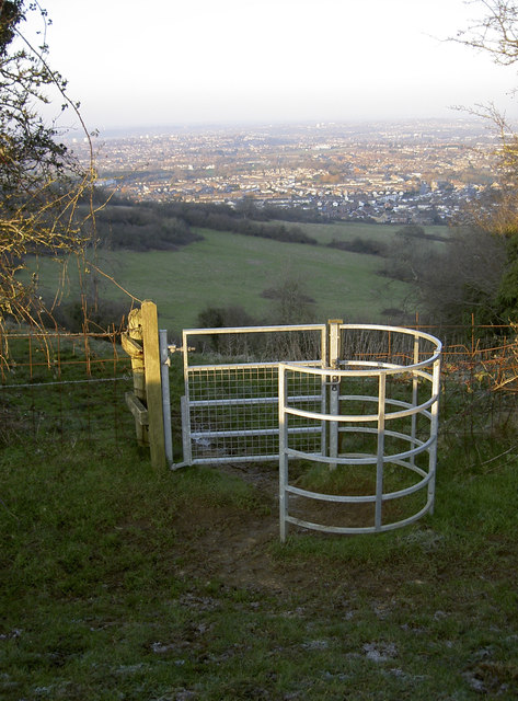 Gate with a view