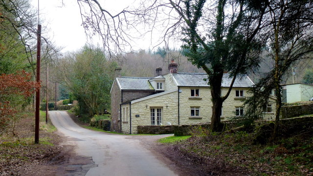 Stone house at Manorside