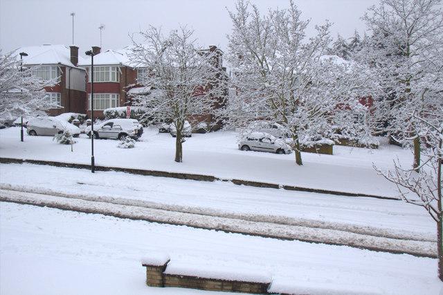 Heavy Snow, London N14