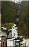 SS7249 : Lynmouth to Lynton cliff railway by Graham Horn