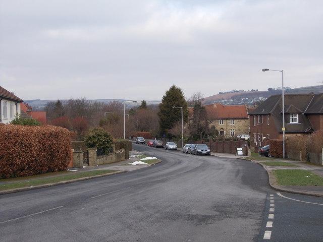 Nab Wood Drive - viewed from Ashfield Road