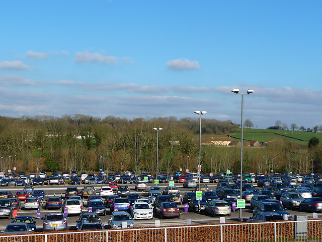 Bristol Airport car park