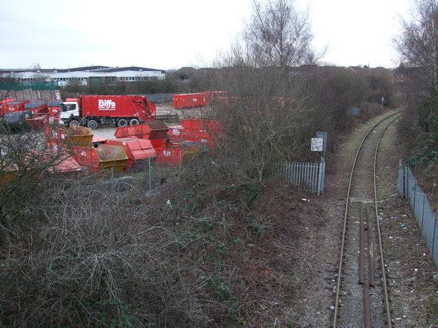 Disused Highworth branch line, Gipsy Lane
