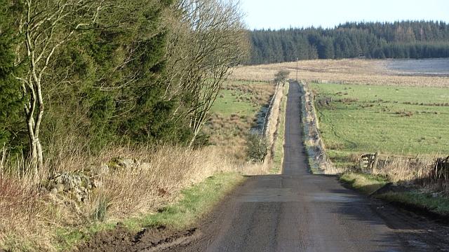 Road on Sheriff Muir