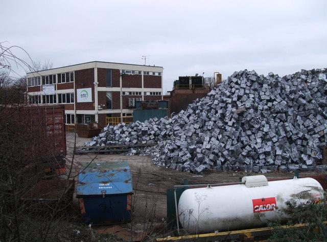 EMR scrap metal yard, Gipsy Lane