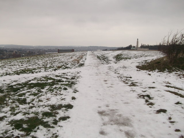 Icy path to Chatham