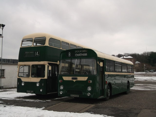 Historic Dockyard Buses, Chatham