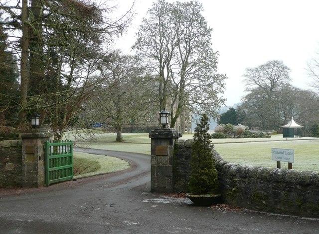 Gateway to Kinnaird Estate