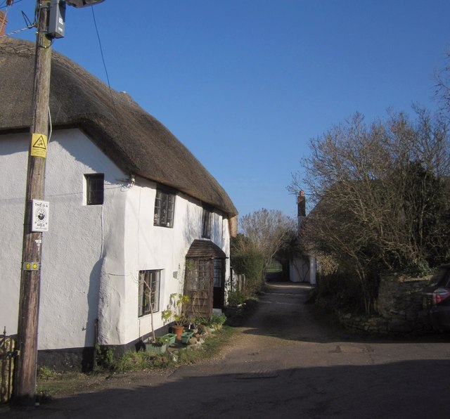 Thatched cottage, Culmstock