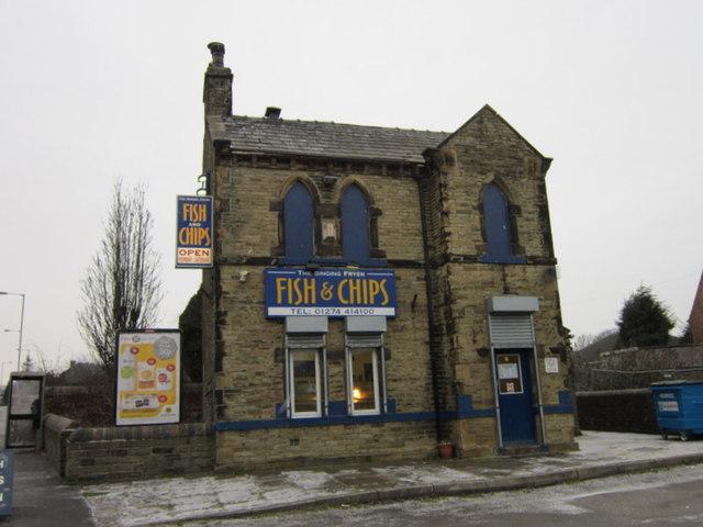 The Singing Fryer on Cleckheaton Road, Low Moor
