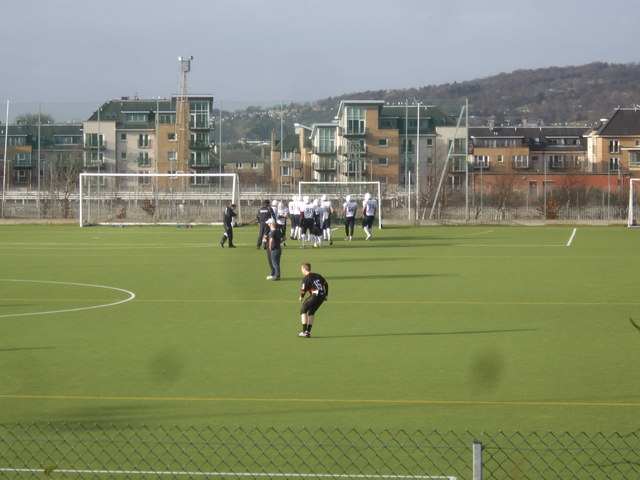 An all-weather pitch at Meggetland Sports Centre