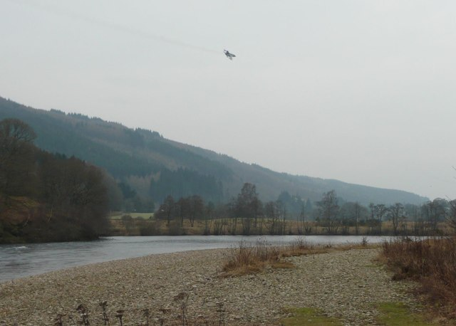 The RAF use the Tay valley