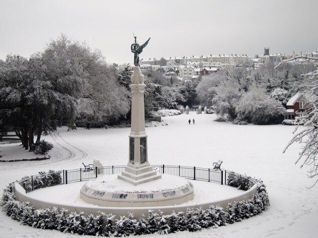 Memorial at Alexandra Park
