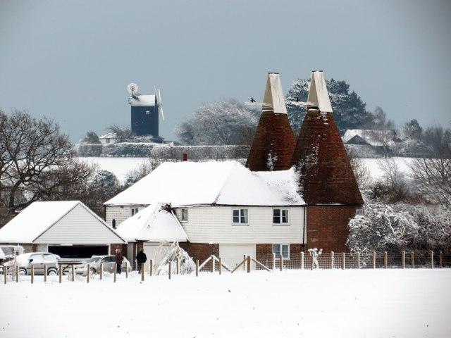 Manor Farm Oast, Workhouse Lane, Icklesham