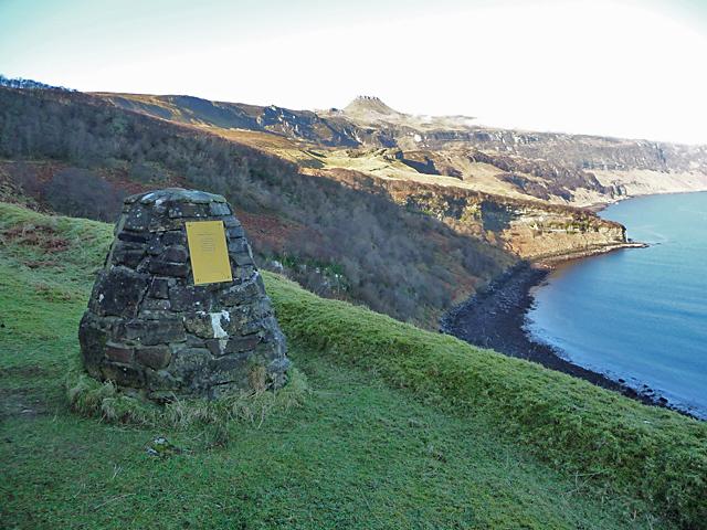 Memorial Cairn, Hallaig