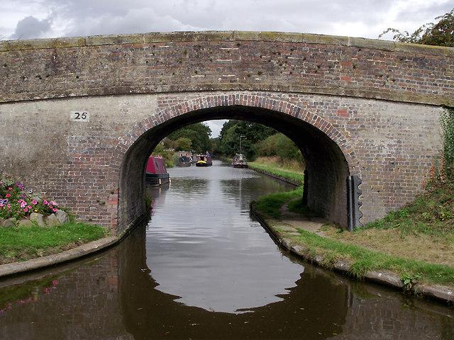 High Onn Bridge near Church Eaton, Staffordshire
